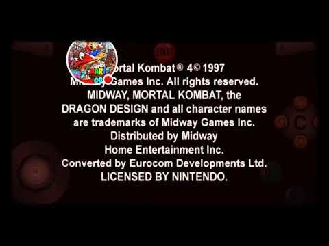 Mortal Kombat 4 и 1