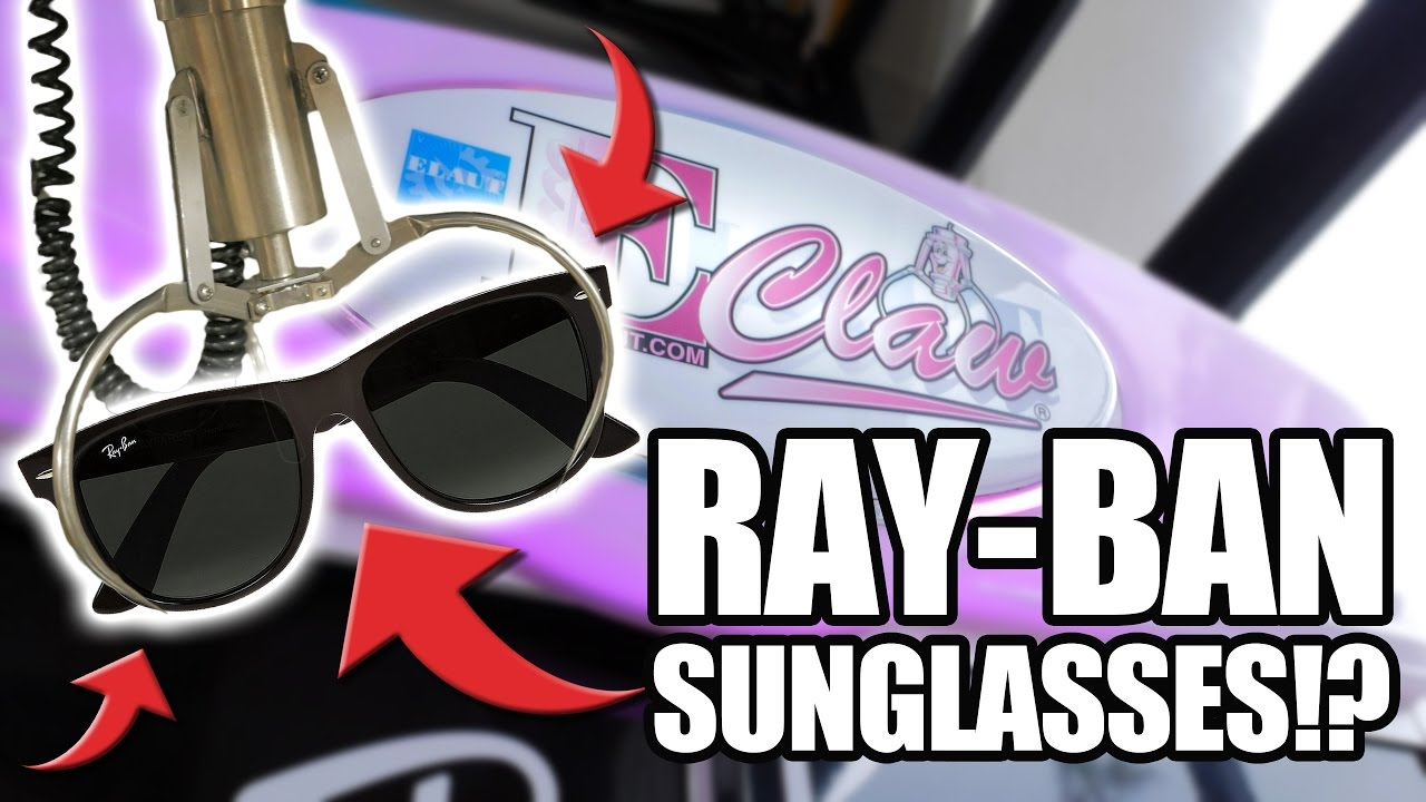 Ray ban sunglasses for couple - Can T Believe We Spent This Much On Ray Ban Sunglasses In A Claw Machine The Crane Couple