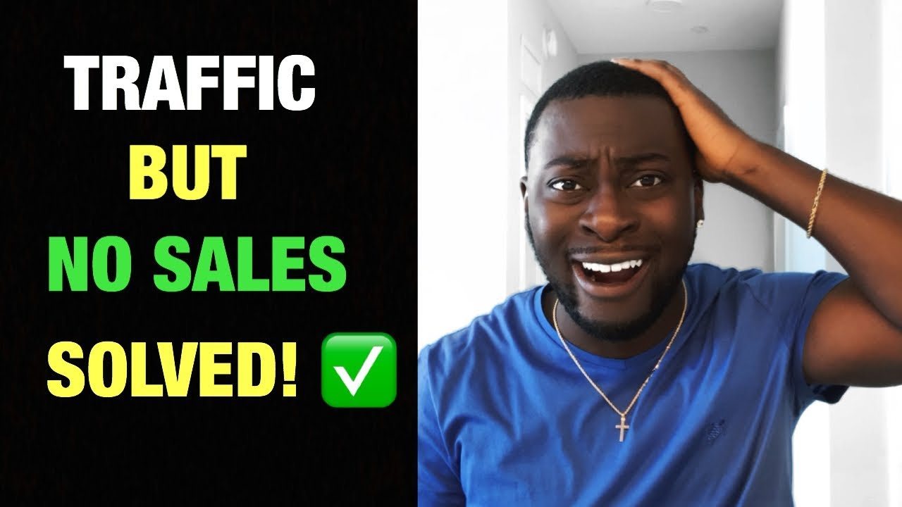 Getting Traffic to your Shopify Dropshipping store but No Sales SOLVED!