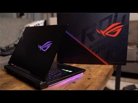 Asus ROG Strix Hero III Gaming Laptop Unboxing!