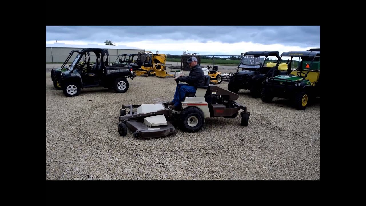 Grasshopper 9280 lawn mower for sale | sold at auction June 17, 2015