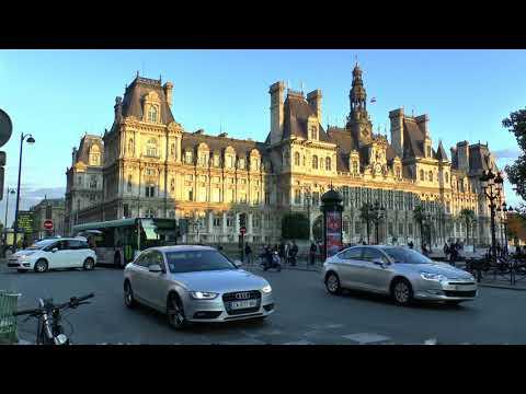 Paris France  Rue de Rivoli Hôtel de Ville