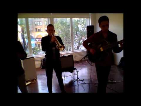 Sound Underground David Leon, Alec Aldred, Jonah Udall) at the Luggage Store, 6/30/16