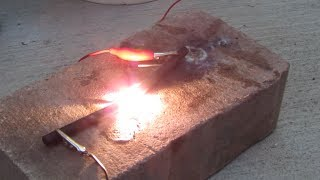 Homemade Arc Furnace - Melts Anything!