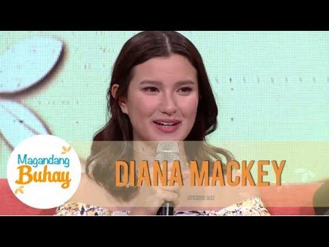 Diana Mackey suddenly gets emotional | Magandang Buhay