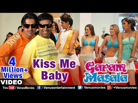 Kiss Be Baby Full Video Song | Garam Masala | Akshay Kumar, John Abraham | Adnan Sami thumbnail