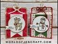 Stampin' Up! Seasonal Chums Gift Box