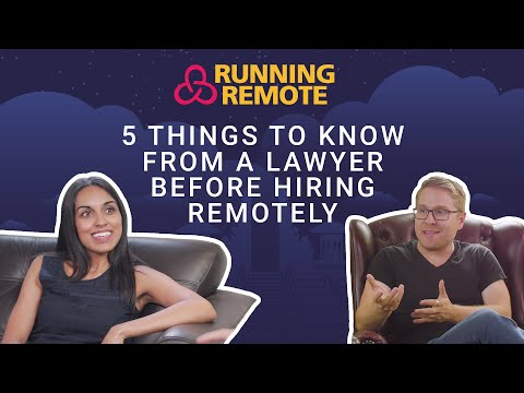 5 Things To Know From A Lawyer Before Hiring Remotely