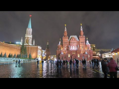 Russia December 2015: State Historical Museum, Moscow—video via Canon G5X