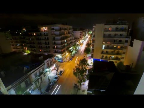Xiaomi Yi timelapse long-exposure-Patras , Greece