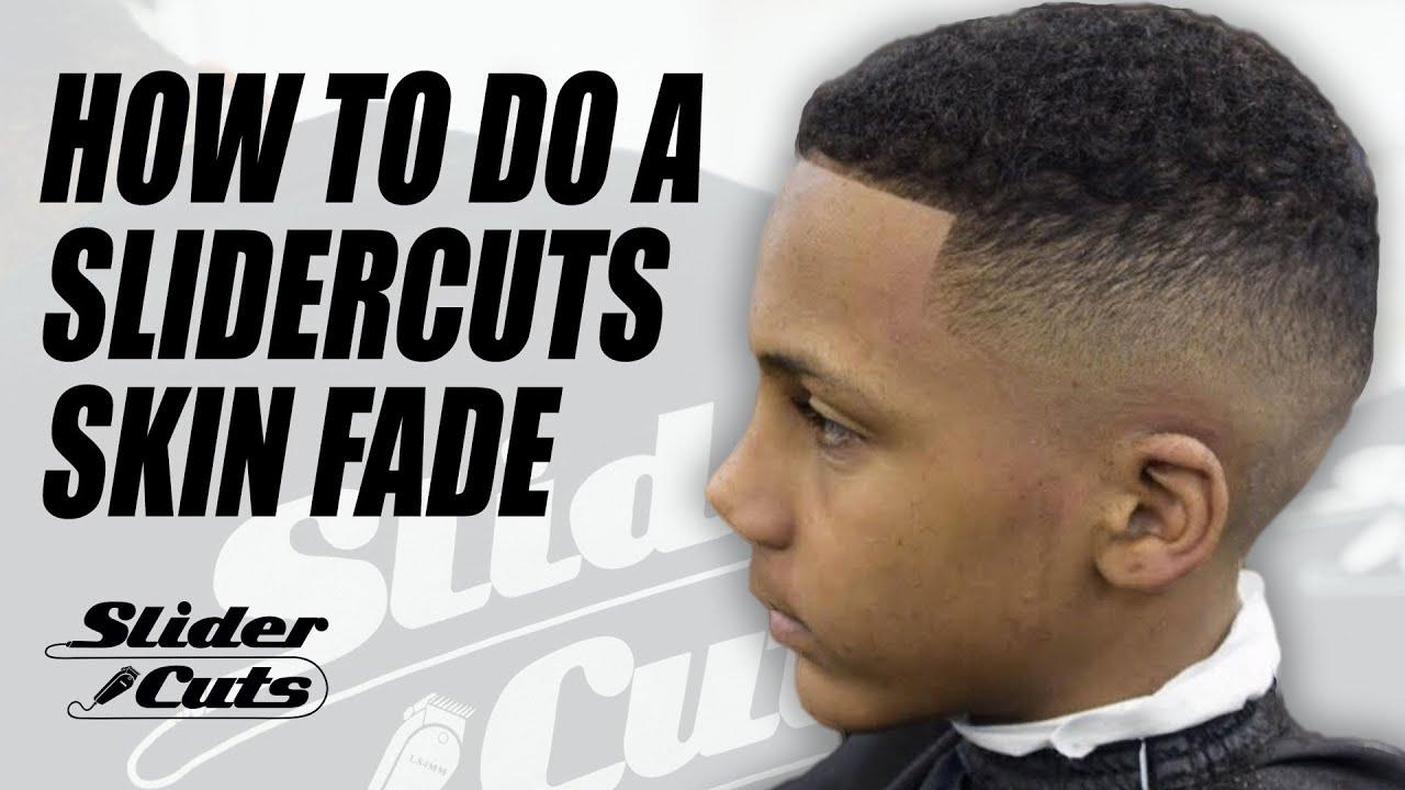 Barber Haircut Tutorial Skin Fade Slidercuts Youtube