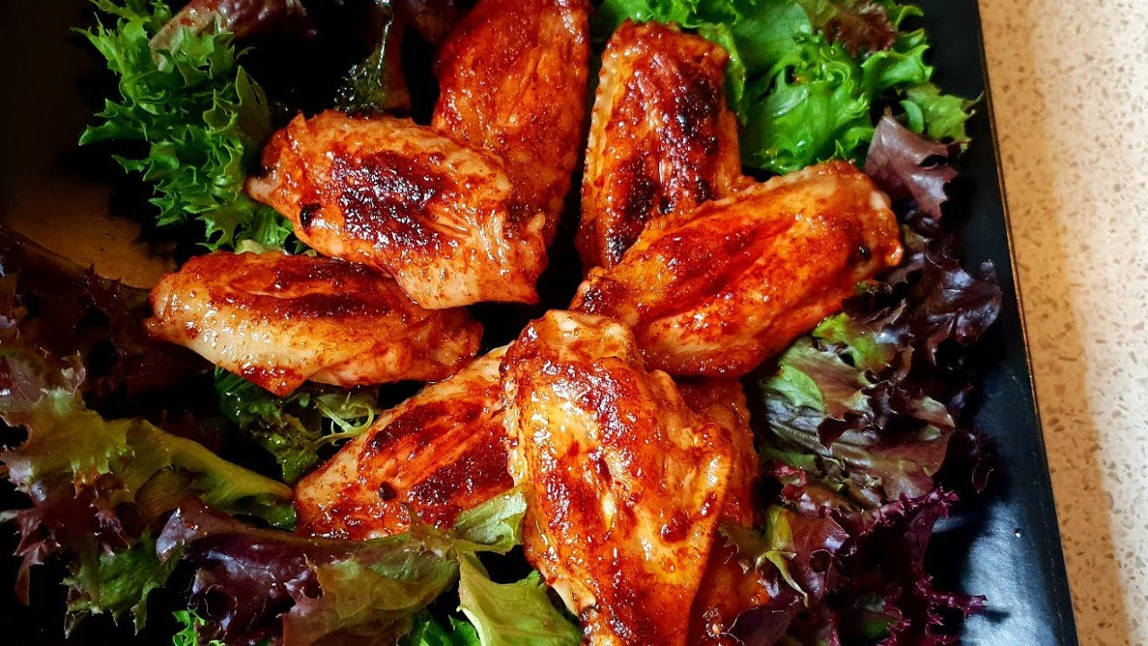 Hot chicken wings   UK Asian cooking with Noreen   Chicken recipes