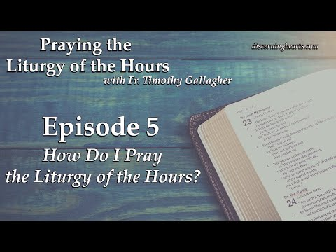 LOH5–How do I Pray the Liturgy of the Hours?–Praying the Lit