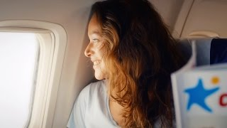 corendon airlines safety video   737 room of journey