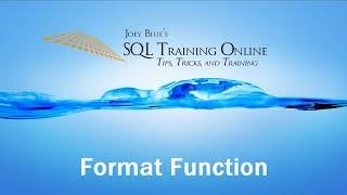 sQL Format Function - SQL Training Online
