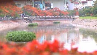 (VTC14)_Sông Tô Lịch đẹp lạ sau trận mưa kỷ lục