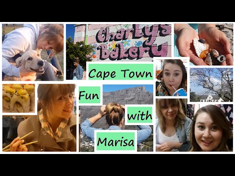 VLOG || Cape Town Fun with Marisa || Girl in Spring