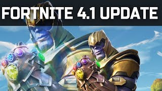 New Fortnite Update 4.1 Patch notes! BIG Storm ZONE Changes!