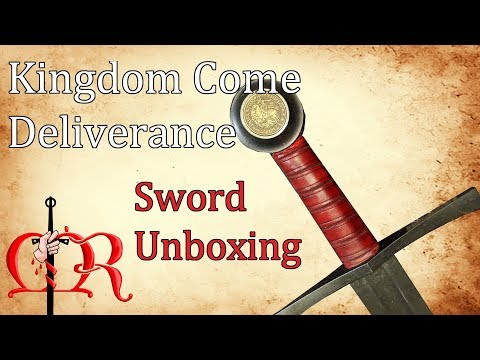 Kingdom Come Deliverance Limited Edition Unboxing -  Part 2: The Sword
