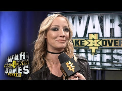 For which Superstar does Nita Strauss want to write a theme song?: WWE Exclusive, Nov. 17, 2018