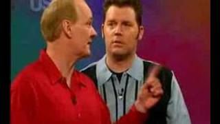Whose Line water spillages