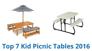 7 Best Kid Picnic Tables 2016