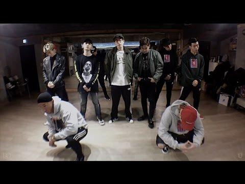 블락비 바스타즈(Block B BASTARZ) - Make It Rain Dance practice