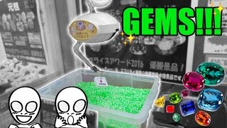 Digging for gems at the arcade! Shiny UFO catcher wins at Everyday UFO Japan | Crane Couple in Japan