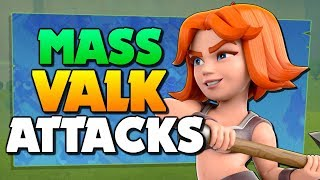 MASS VALKYRIE ATTACKS at Town Hall 12 ⚔ TH12 Farm to Max ep 5 | Clash of Clans