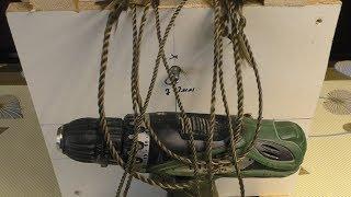 Станок для плетения верёвок. для посадки  рыбацких сетей