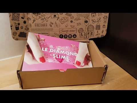 test nouveau kit slime de la petite épicerie 💎diamond slime 💎 trop beau