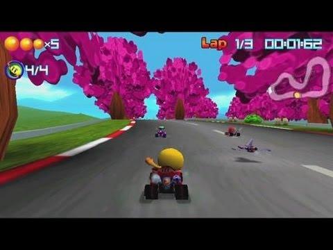 PacMan Kart Rally Sony Xperia