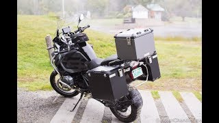 Install / Review: Bumot Defender & Top Case for R1200 GS Adventure (Liquid Cooled)