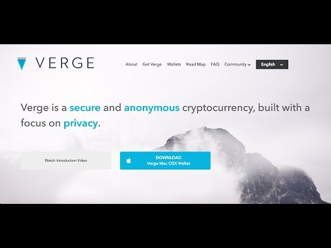 Verge (XVG) | Private, Secure and Anonymous Transactions