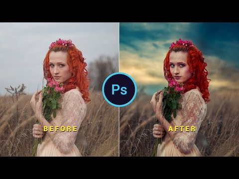 Photoshop cc Tutorial: Cinematic Color Tone | Cinematic Color Tone Photoshop Effect Tutorial