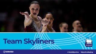 Skyliners (USA)   Helsinki 2019   #WorldSynchro