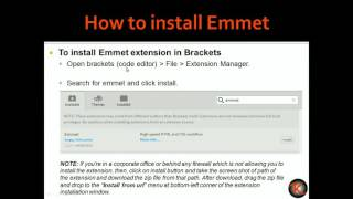 Fastest way to write HTML/CSS code by Zen coding using Emmet and Brackets,
