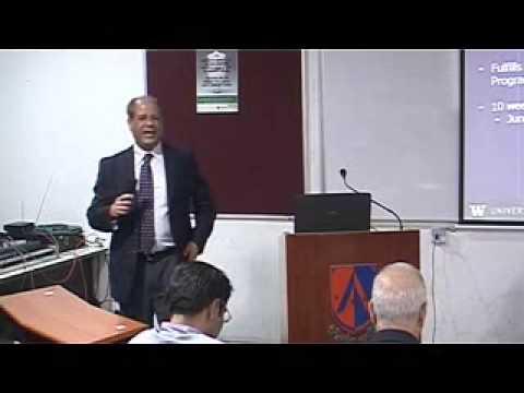 Dr. Shahrokh Saudagaran at Ahmedabad University