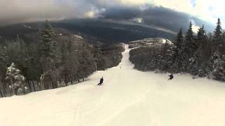 Sugarbush Skiing vermont trail Organgrinder John Egan Diggity Robert Forenza
