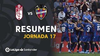 Resumen de Granada CF vs Levante UD (1-2)