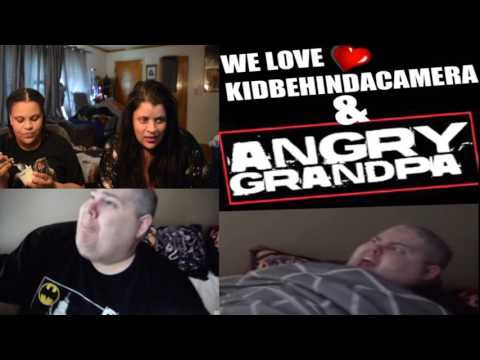 Bernie & Ava REACTING to Angry Grandpa Destroys WRESTLEMANIA tickets!!!
