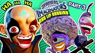 KAOS FART PROBLEM?!  SKYLANDERS IMAGINATORS BAD LIP READING (Part 3) HAHAHAHAHAHAHAHA HA HA FUNNY!😃
