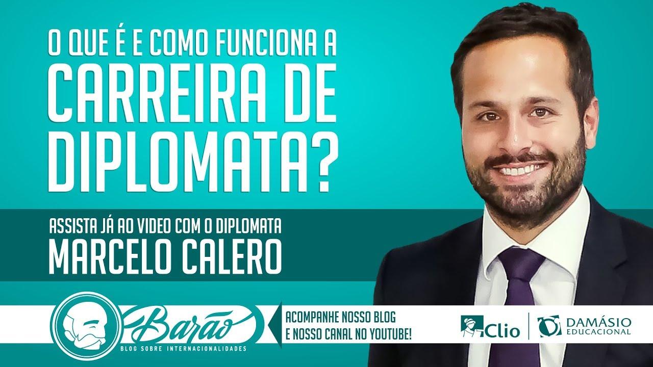 Como funciona a Carreira de Diplomata? - Palestra com Marcelo Calero (diplomata licenciado)