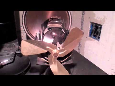 Stove Top Fans, How They Work