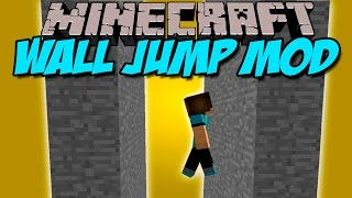 WALL JUMP MOD - Rebota en las paredes! - Minecraft mod 1.5.2, 1.6.4, 1.7.2, 1.7.10 y 1.8 ESPAÑOL