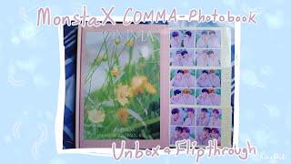 [몬스타엑스] MONSTA X COMMA Photo book-unboxing & full flip-t…