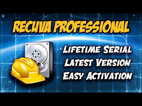 recuva professional key activation
