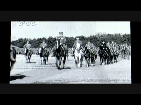 Brave figure of Imperial Japanese Army 皇軍の勇姿