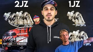 1JZ vs 2JZ + PASSAGE AU BANC