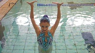 Соло | Евенко Виолетта | Первенство Мосвы по синхронному плаванию | 23.12.2016